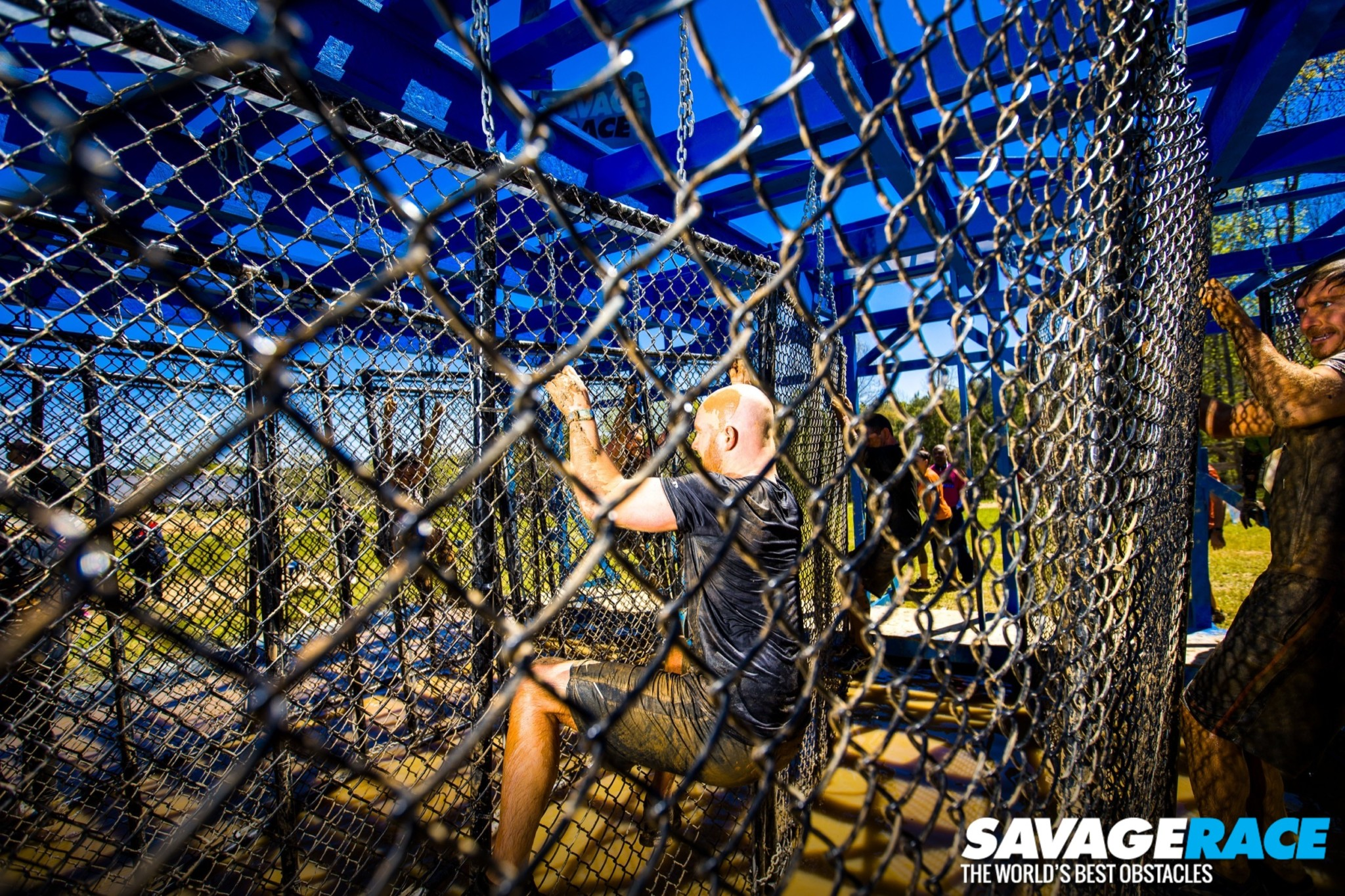 Savage Race On The Fence