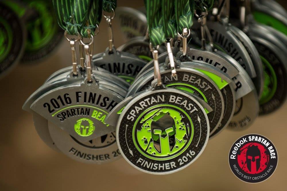 Spartan Beast Medal