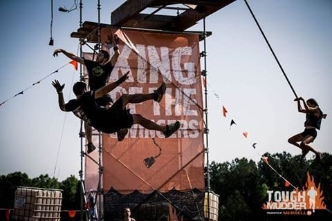 Tough Mudder King of the Swingers