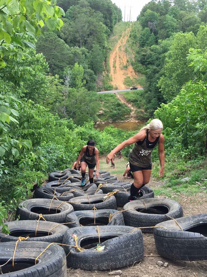 Barbarian Challenge Kudzu Tire Climb