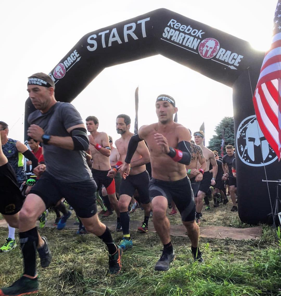 Spartan Race Chicago Sprint Elite Male Start