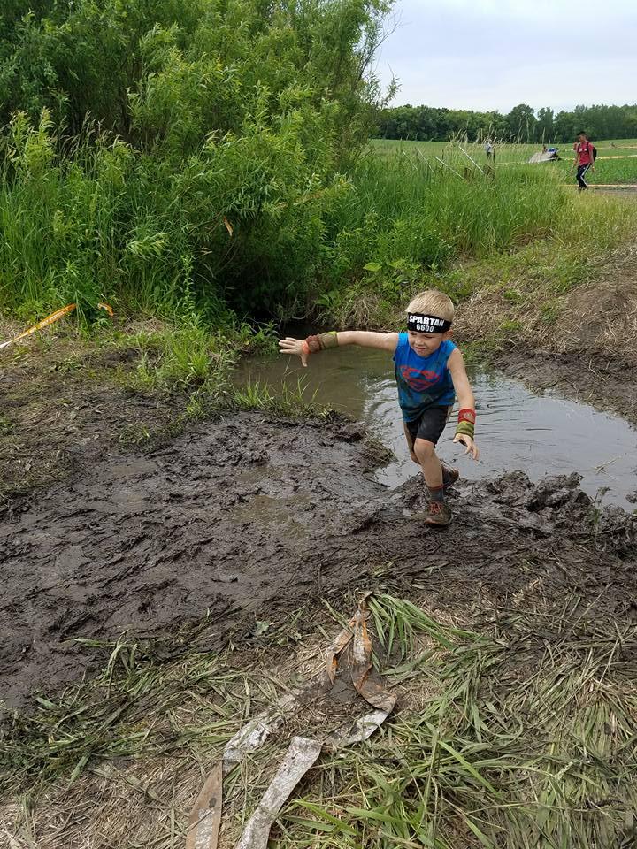 Spartan Race Chicago - Kid's Mud