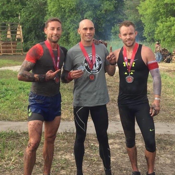 Spartan Race Men's Elite Podium