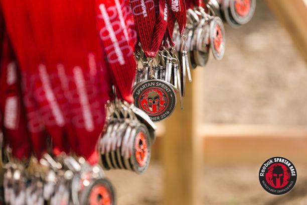 Spartan_Sprint_Tuxedo_Medals