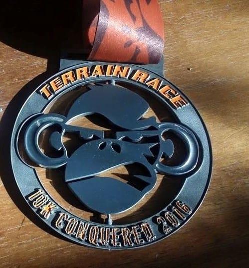 Terrain Race Medal