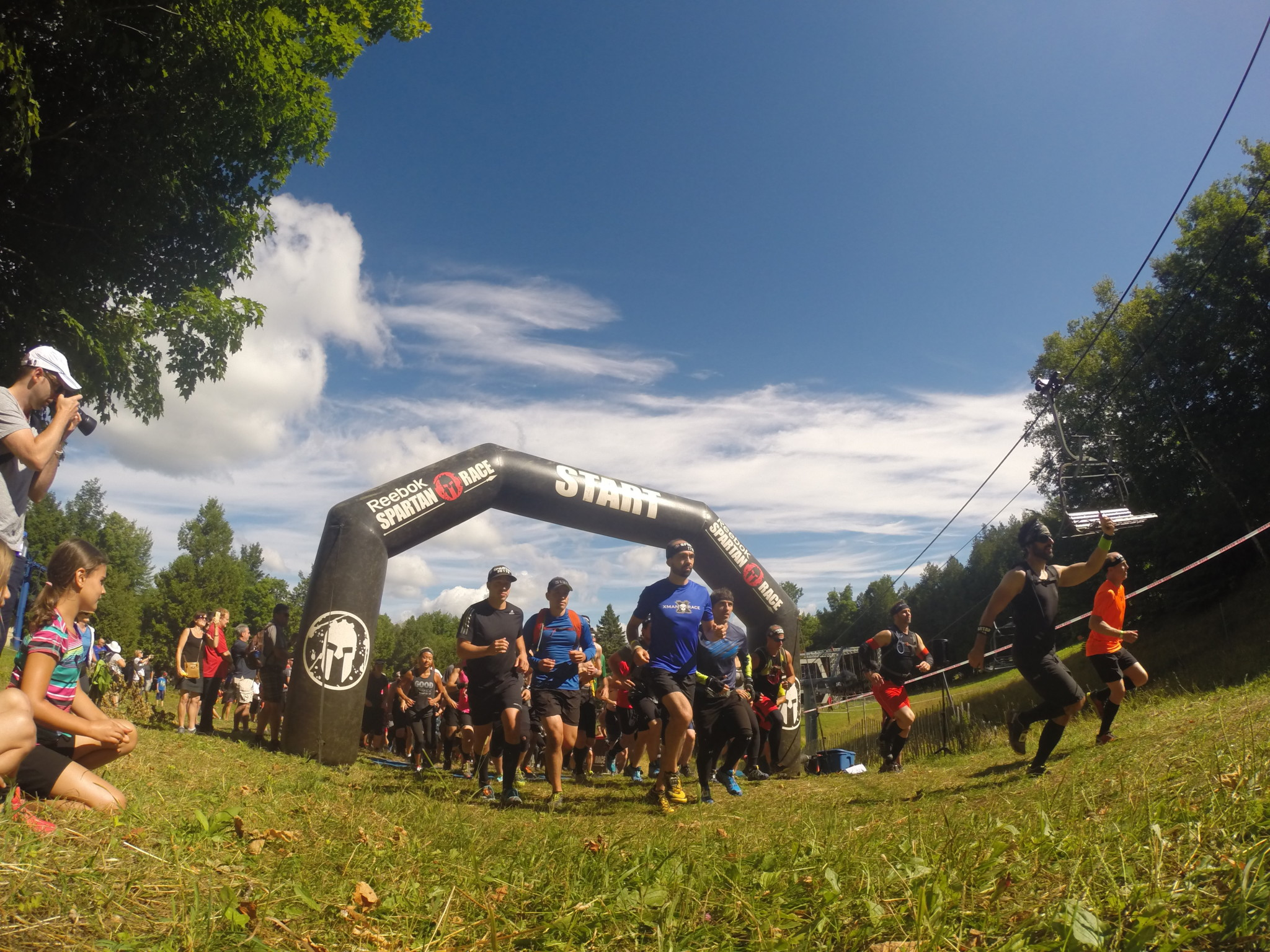 Spartan Race Montreal Start