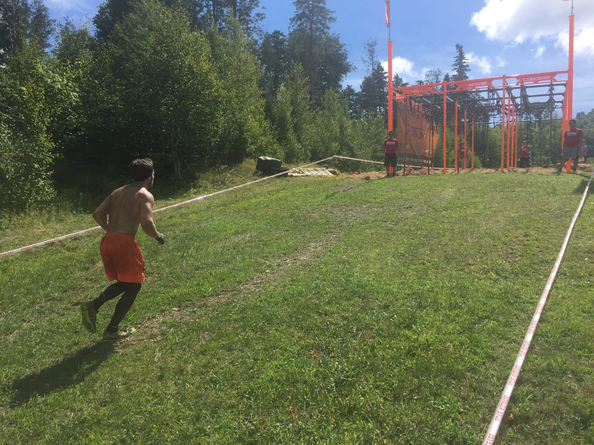 Spartan Race Montreal Running