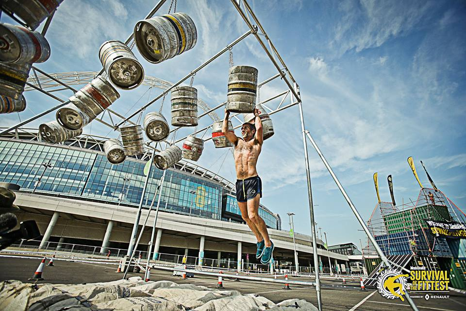 Men's Health Survival of the Fittest Keg Bars
