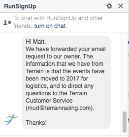 RunSignUp Response