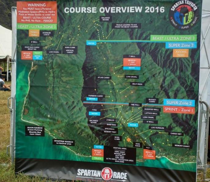 Spartan Race Hawaii Course