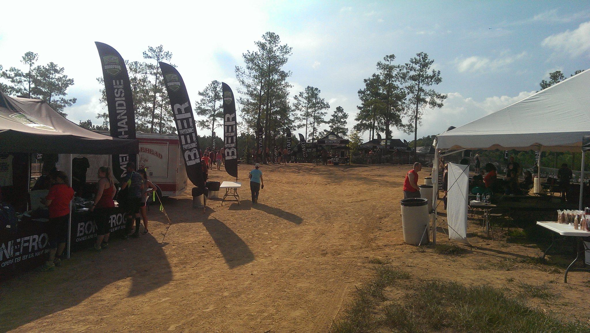 BoneFrog Atlanta Festival Area