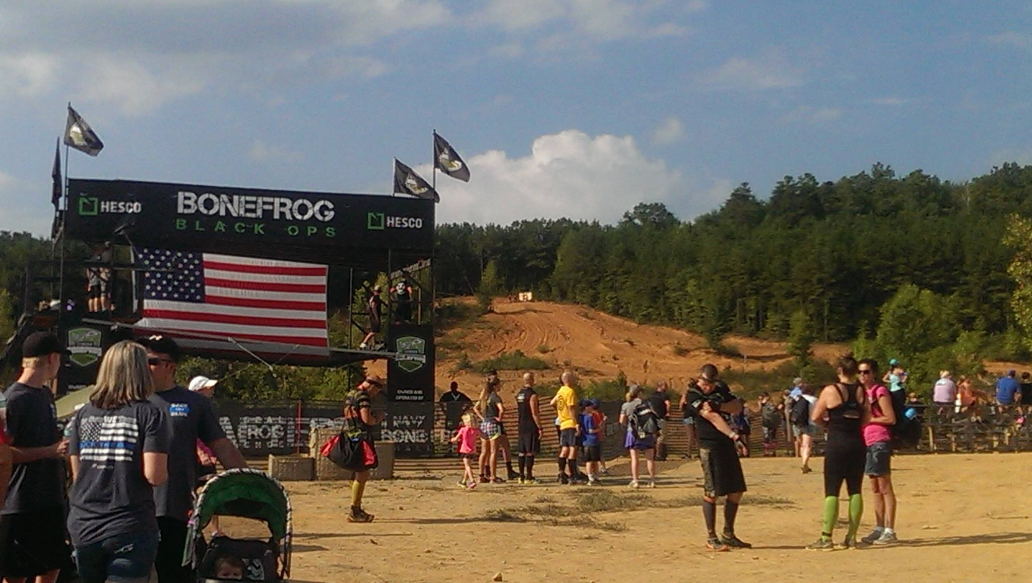 BoneFrog Atlanta Sprint Course