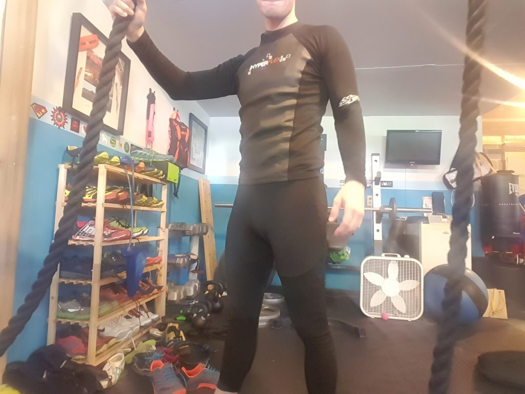 Wetsuit For Worlds Toughest Mudder Layers