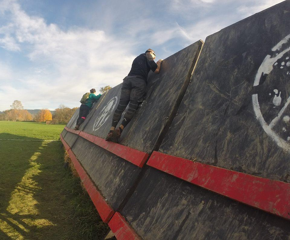 Spartan Race Snohomish - Inverted Wall