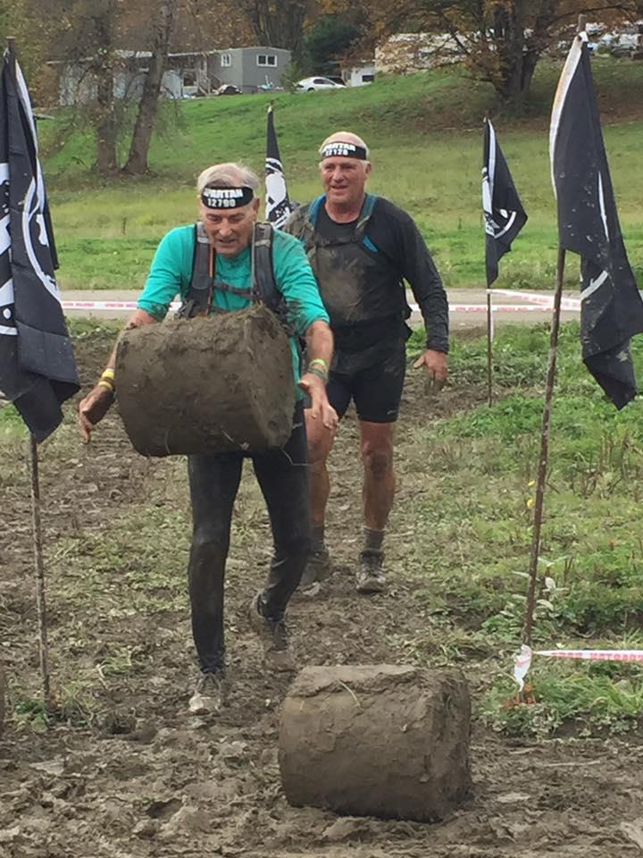 Spartan Race Snohomish - Chuck at 83 years old