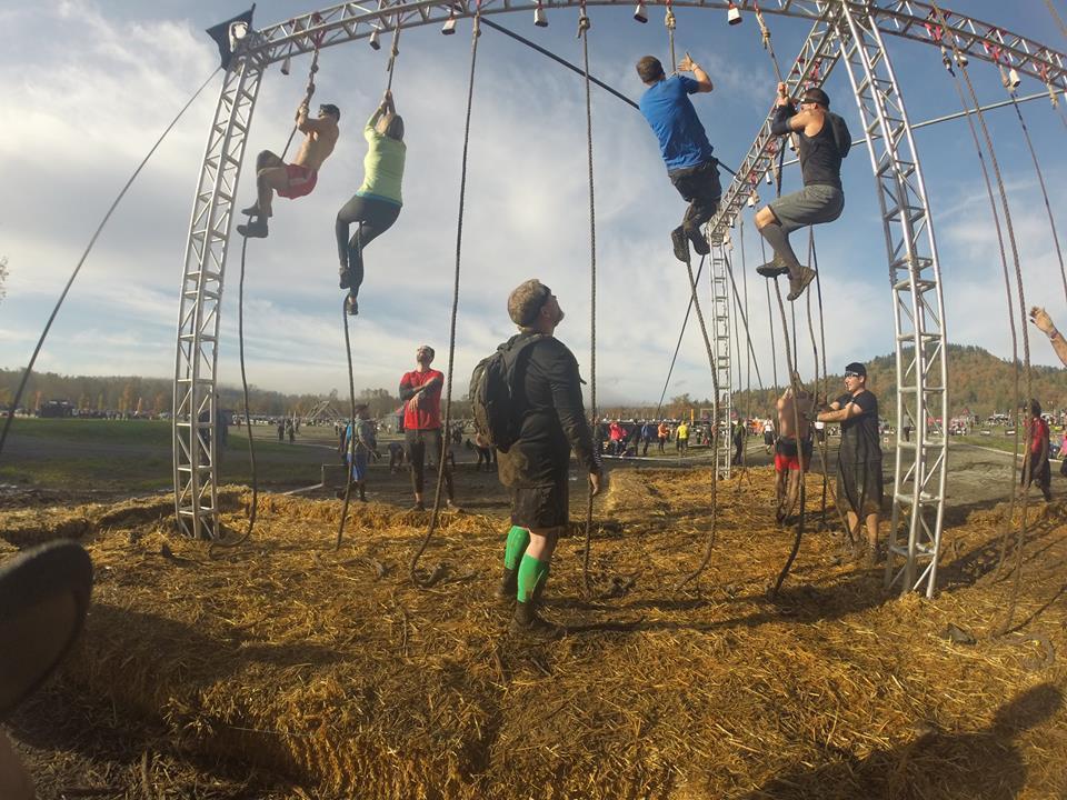 Spartan Race Snohomish - Rope Climb
