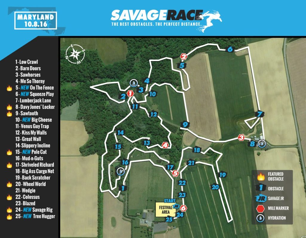 Savage-Race-Maryland-course-map