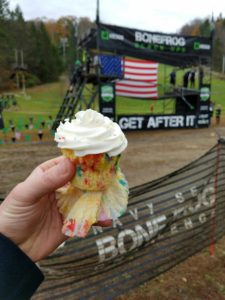 BoneFrog Championships - Celebratory Cupcake