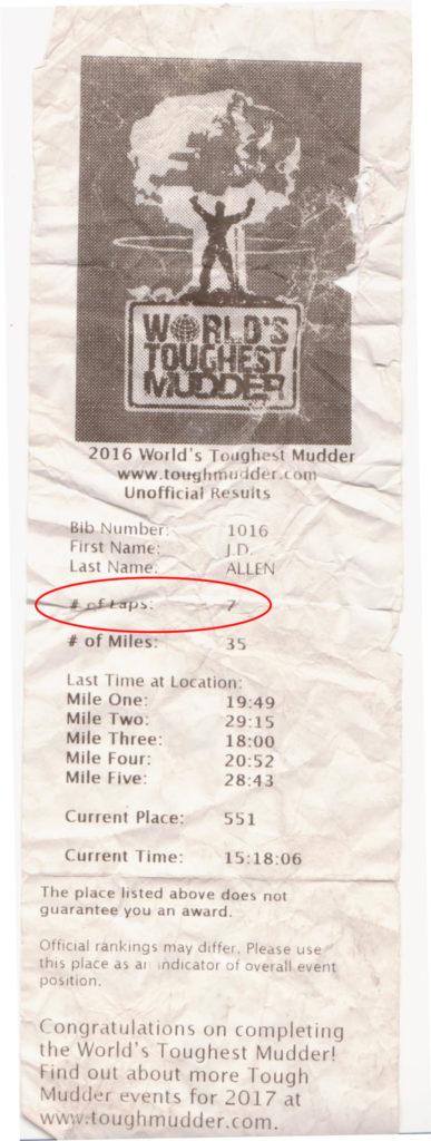 WTM 2016 - J.D. lap Printout