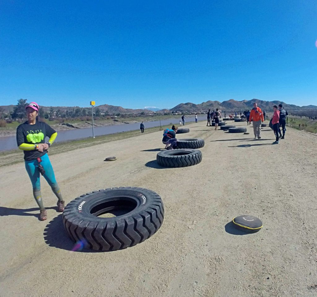 Spartan SoCal - Tire Flip