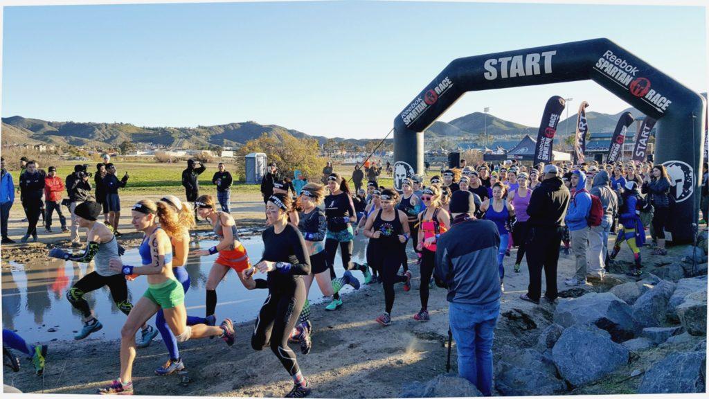 Spartan Race - SoCal Women's Start