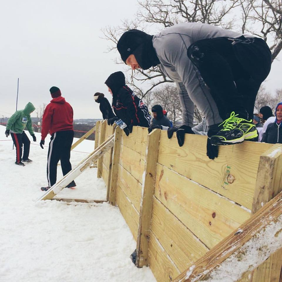 Abominable Snow Race - Low in the snow