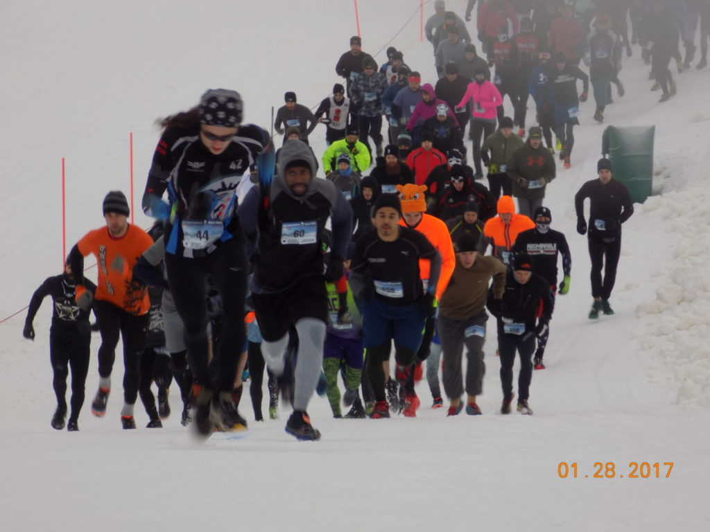 Abominable Snow Race - And They're Off!