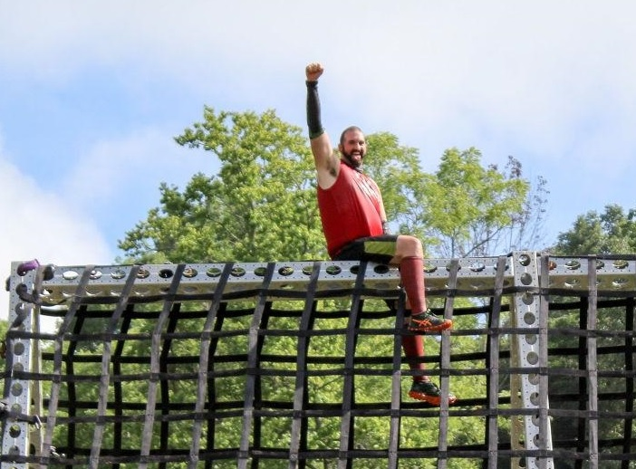 Clydesdale-Runner-Fist-Raised