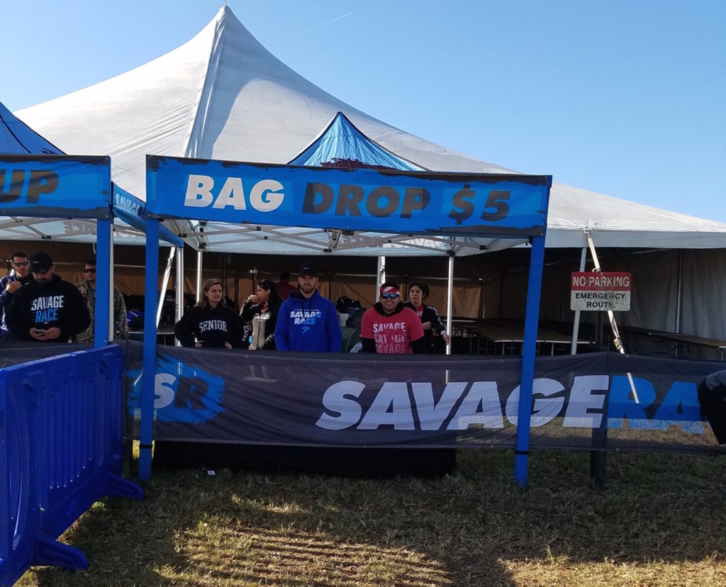 Savage-Race-Bag-Check-Tent