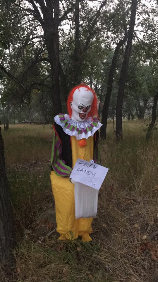 Tracy Romelle Facebook Clown