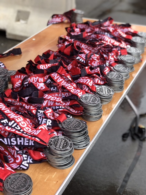 Rugged Maniac Finisher Medals