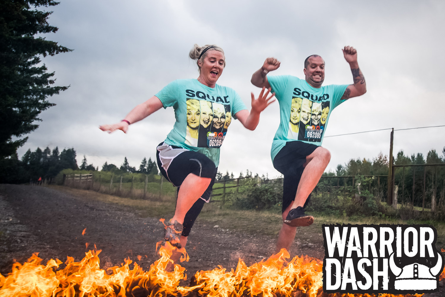First OCR Warrior Dash 2