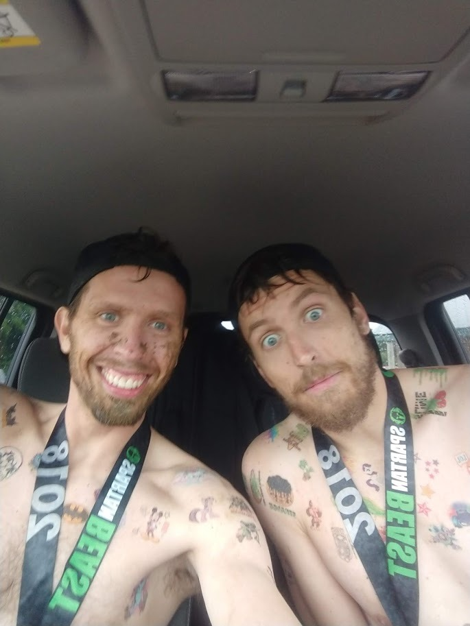 Beast Mode Bros 412 at the Spartan Chicago (Indianapolis) Badlands Off-Road Park