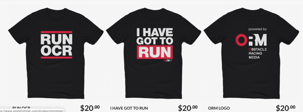 RUN OCR Tees