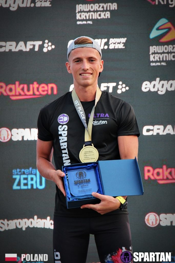 Spartan Krynica 1st place trophy