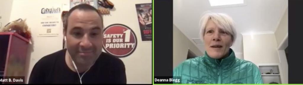 Deanna Blegg Eco Challenge Episode 1