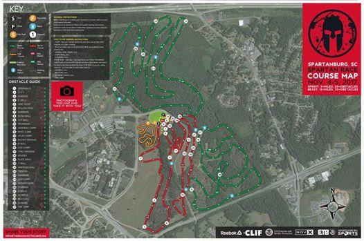 Spartanburg-Beast-Map