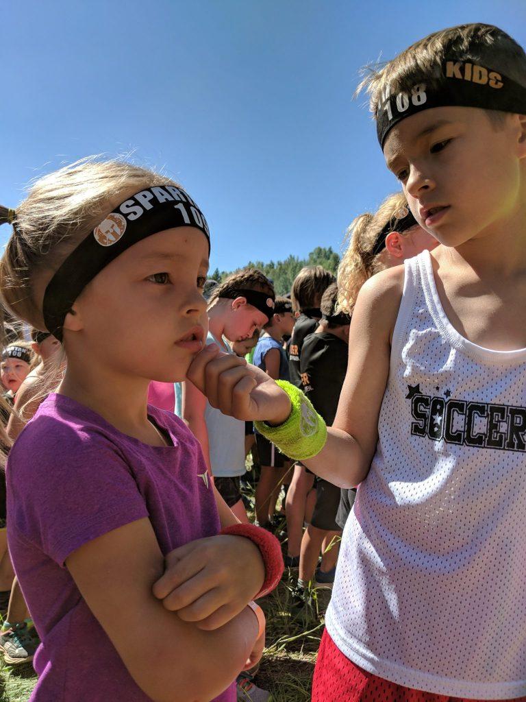 Race Ready Spartan Kids