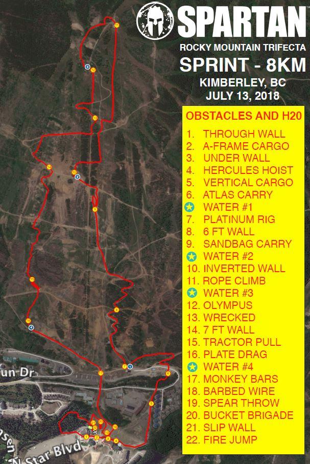 Sprint Kimberley BC Spartan Race